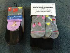 LEGGINGS & 9-Pair of SOCKS-brand new!-Cocktails & Chill-Hanes-