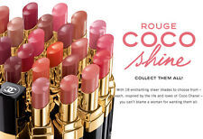 Chanel Rouge Coco Shine Hydrating Sheer Lipshine Various Shades New Choose One