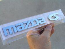 MAZDA 6 Script Badge Rear Emblem Hatch Back Door *Factory 2nd*