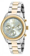 Invicta Women's Angel Chronograph 100m Two Tone Stainless Steel Watch 20268