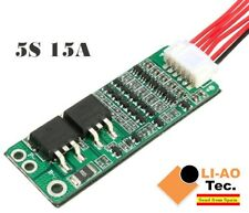 5S 15A Li-ion Lithium Battery BMS 18650 18V 21V Charger Protection Board