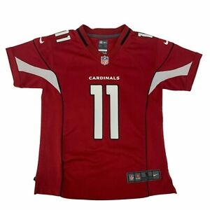 Larry Fitzgerald Arizona Cardinals Nike Jersey Youth Kids Size S Red *READ