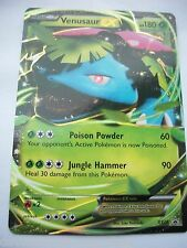 POKEMON CARD XY 2014 FALL TIN PROMO *VENUSAUR EX* HP 180 XY28