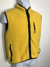 American Eagle Outfitters Performance Mens Vintage Vest Yellow Size Medium