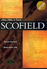 Nueva Biblia De Estudio Scofield: Version Reina-Valera 1960 Black Spanish Bible