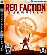 Red Faction: Guerrilla (Sony PlayStation 3, 2009) COMPLETE FAST SHIPPING PS3