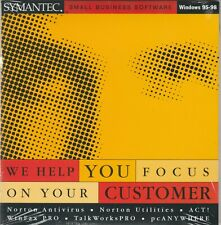 Symantec Small Business Software CD for Windows 95-98
