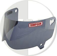SIMPSON HELMET BLACK VISOR FOR OUTLAW UK DELIVERY MOTORCYCLE M/L SIZE B