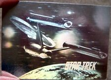 2 Star Trek Hologram Collector Cards Trading Next Generation Starship Enterprise