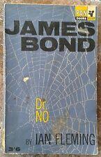 Vintage Copy James Bond Dr No by Ian Fleming 1965 Edition Pan Books