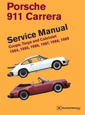 Porsche 911 Carrera 3.2 propriétaires de service d'atelier de réparation Manuel Handbook Livre