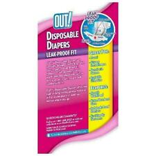 out Disposable Female Dog Diapers XS - S