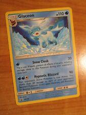 NM Pokemon GLACEON Card BLACK STAR PROMO Set SM238 Tag Team SM Collection Box