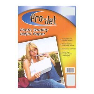 Projet 6x4 185g Gloss Photopaper 20 pack x 5 packs