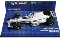 MINICHAMPS 430 000080 430 000099 WILLIAMS F1 model cars Jenson Button 2000  1:43