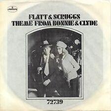 FLATT & SCRUGGS - THEME FROM BONNIE & CLYDE - 45 + PS