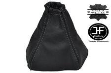 Costura Gris Manual Cuero Gear Polaina encaja Kia Sorento 2002-2006