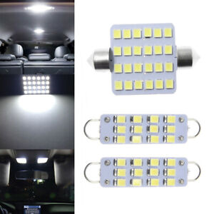 3x Top LED Interior Map Dome Light Lamps Fit 88-98 Chevy Silverado GMC Sierra