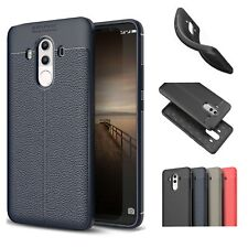 Protective Leather Silicone TPU Slim Phone Case For Huawei Honor 8 9 6A Mate10