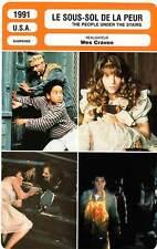 FICHE CINEMA : LE SOUS-SOL DE LA PEUR - Wes Craven 1991 People Under The Stairs