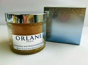 Orlane Paris Body Scrub w Essential Oils, 6.7 oz   Sealed  FREE MAKEUP REMOVER