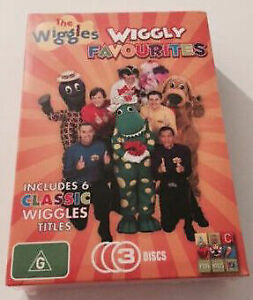 The Wiggles: Wiggle Favourites 6 classic wiggles titles DVD NEW R4