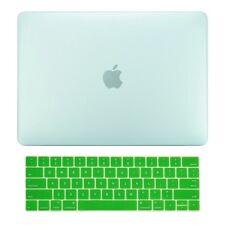 "Green Matte Hard Case+Keyboard Skin for Macbook Pro 13"" Touch Bar A1989/A1706"