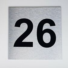 customised house number sign 200mm x 200mm
