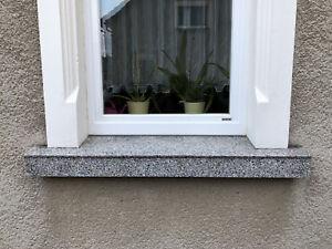 DÜNNSTEIN Verkleidung Fensterbank Granitplatte Abdeckung Trittstufe 10mm stark!!
