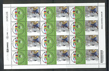 Brazil - Sheet of Stamps World Championship 2002 MNH**