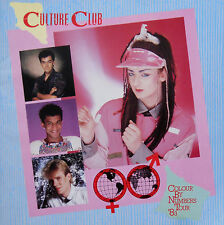 CULTURE CLUB / BOY GEORGE * COLOUR BY NUMBERS TOUR PROGRAMME * 1983 * HTF!