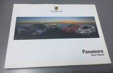 buy porsche car owner operator manuals 2012 ebay rh ebay co uk porsche panamera turbo user manual porsche panamera user manual