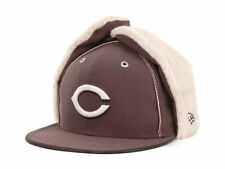 Cincinnati Reds New Era 59FIFTY MLB Men's Dog Ear Winter Cap Hat - Size: 7 1/4