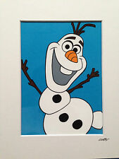 Disney - Frozen - Olaf - Hand Drawn & Hand Painted Cel
