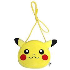 Nintendo Switch Pokemon Joy-con Pouch Controller Case Pikachu Face Japan F/s