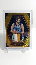 PANINI SELECT BASKETBALL 2015-16 MARC GASOL GOLD PATCH #/10 3-COLOR PRIZM
