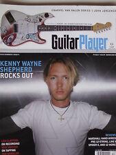 KENNY WAYNE SHEPHERD Dec. 2004 Guitar Player JOHN JORGENSON  WILLIAM SHATNER