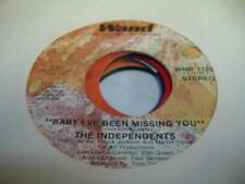 Soul 45 THE INDEPENDENTS Baby I've Been Missing You on Wand