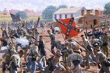 Bedlam In The Brickyard - Gettysburg by Bradley Schmehl