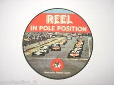 ADESIVO AUTO F1 anni '80 / Old Sticker Vintage FORMULA UNO REEL (cm 11,5)