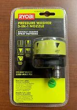 Ryobi 1003 524 628 Pressure Washer 5 In 1 Nozzle Free Ship