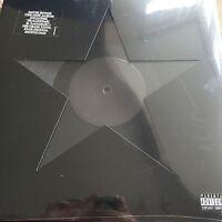 DAVID BOWIE 'BLACKSTAR' 180g VINYL LP / DIE-CUT GATEFOLD SLEEVE / NEW + SEALED