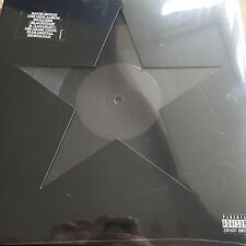 DAVID BOWIE 'BLACKSTAR' 180g VINYL LP / DIE-CUT GATEFOLD SLEEVE / NEW + SEALED