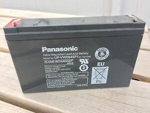 UP-VW0645P1 Panasonic 6v 7.8Ah  Rechargeable Sealed Lead Acid 6 V Battery