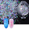 AB Color Nail Glitter Sequins Irregular Star Round Iridescent Flakes BORN PRETTY