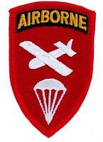 patch airborne rouge Ecusson us army militaire Paratrooper parachute