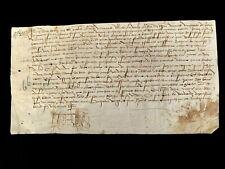MEDIEVAL PARCHMENT 1524