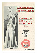 The Haslam System of Dresscutting No. 22 Bumper Edition 1940's -  Copy