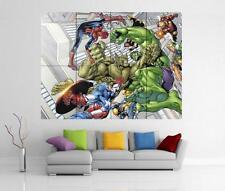 I VENDICATORI MARVEL IRON MAN HULK THOR Giant WALL ART PRINT POSTER H23