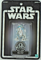 Star Wars SILVER ANNIVERSARY R2-D2 Action Figure MINT ON CARD 1977-2002 HASBRO